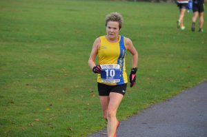 Helen Ambrosen in the Boscombe 10k