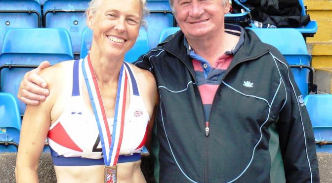 Janet Dickinson Nominated for World Masters Athletics Annual Awards