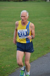 Ian Graham in the Boscombe 10k