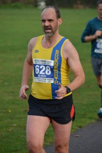 Ian White in the Boscombe 10k