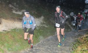 Jacek powers up the hill in the CTS Dorset Ultra