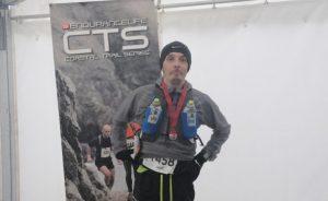 Jacek Cieluszecki after completing the CTS Dorset Ultra