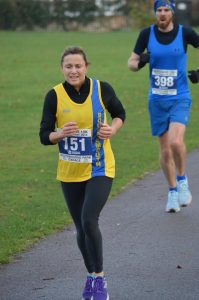 Jo Dilling in the Boscombe 10k
