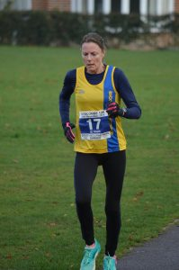 Julia Austin in the Boscombe 10k