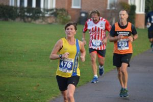 Louise Price in the Boscombe 10k