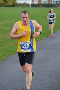 Mike White in the Boscombe 10k