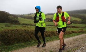 Ollie Stoten in the CTS Dorset Half Marathon