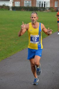 Rich Brawn in the Boscombe 10k