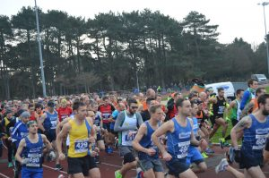 Start of the Boscombe 10k
