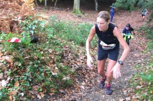 Emma Caplan in the Maverick inov-8 New Forest