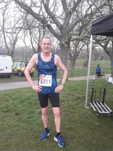 Simon Hearn took part in the Swanage 10k