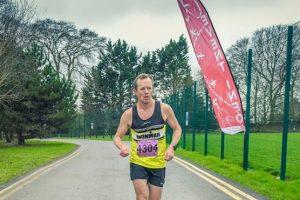 Stuart Glenister in the Bath Skyline 10k