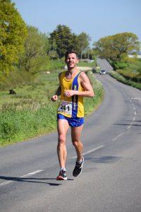 Ant Clark in the Blackmore Vale Half Marathon