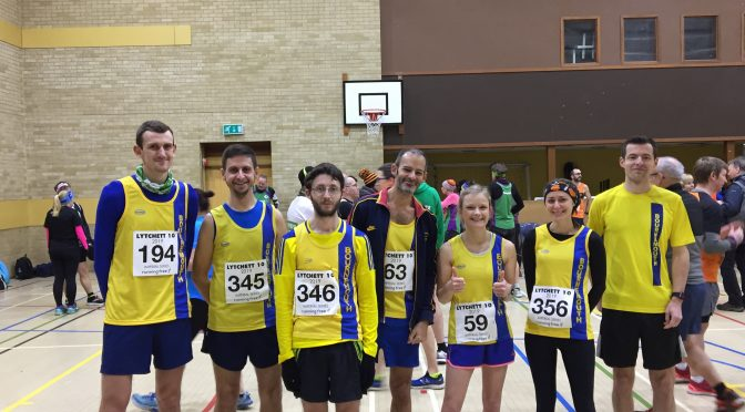 Bournemouth AC team at Lytchett 10