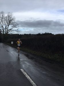Craig Palmer heading for the win in the Lytchett 10