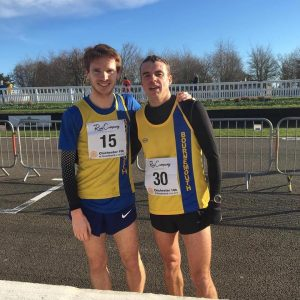 Dave Long and Craig Palmer at the Chichester 10k