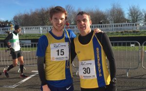 Dave Long and Craig Palmer took on the Chichester 10k