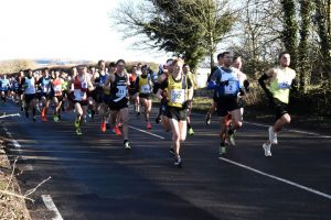 Dave Long and Craig Palmer in Chichester 10k