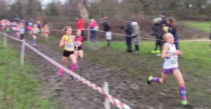 Neve East in the Southern Cross Country Championships