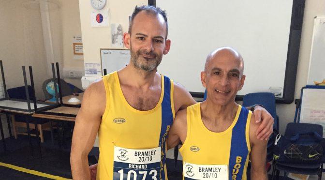 Rich Brawn and Sanjai Sharma prepare to take on the Bramley 20