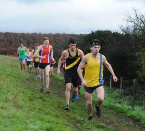 Rob McTaggart in South of England Cross Country Championships