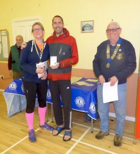 Steve Way picks up prize for 1st place in Blackmore Vale Half Marathon