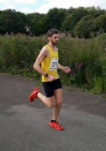 Toby Chapman in the Blackmore Vale Half Marathon