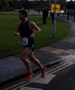 Ant Clark makes his way in the Wokingham Half Marathon