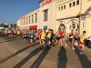 Start of the Bournemouth 10