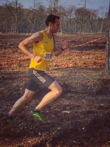 Chris Phelan-Heath in the Avon Trail Run 5k