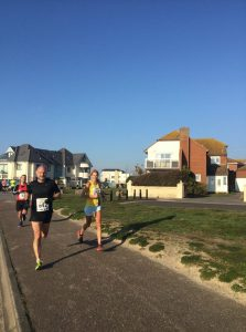 Emma Caplan in the Bournemouth 10