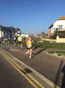 Helen Ambrosen in the Bournemouth 10
