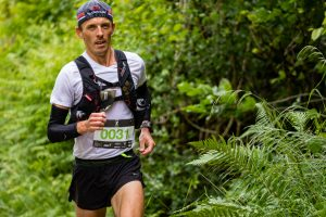 Jacek Cieluszecki battles the Barcelona Marathon
