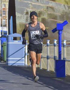 Jacek Cieluszecki in the Weymouth Half Marathon