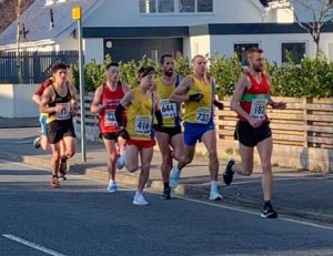Lead group in the Bournemouth 10