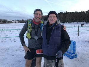 Mark Hillier and Derry Whitehead at Pilgrim Challenge