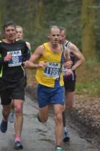 Rich Brawn in the Berkhamsted Half Marathon