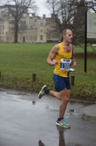 Rich Brawn taking on the Berkhamsted Half Marathon