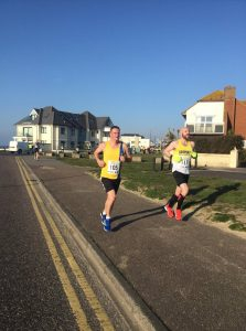 Richard Cannings in the Bournemouth 10