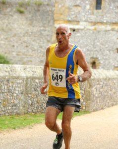 Simon Hunt in the Bath Half Marathon