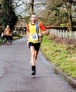 Steve Way in the Bath Half Marathon