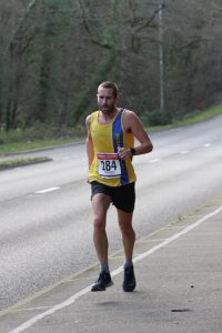 Steve Way races to 3rd in the Wimborne 20