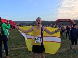 Stu Glenister at the National Cross Country Championships