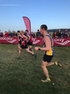 Stu Glenister in the National Cross Country Championships