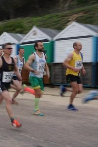 Alex Goulding in the Bournemouth Bay Run 10k