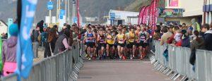 Start of the Bournemouth Bay Run 10k