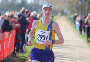 Dave Long finishes Eastleigh 10k