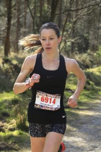 Georgia Wood at the Forest of Dean Spring Trails Half Marathon