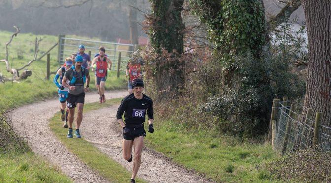 Jacek Cieluszecki in the Dorset Ooser Marathon