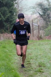Jacek Cieluszecki leads the Dorset Ooser Marathon